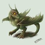 Little Wyvern by Diterkha