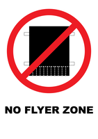 No Flyer Zone by bhorwat