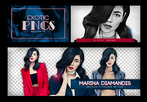 Pack Png 690 // Marina Diamandis. by ExoticPngs