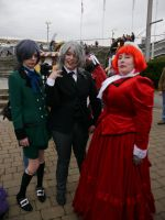 Black Butler trio MCM Oct '12 by KaniKaniza