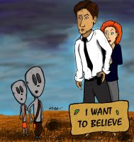 I want to..believe? by E-H-Redlum