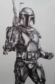 Jango Fett by youbesonicimtails