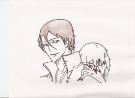 another aizen gin pic by Darkcanisvulpes