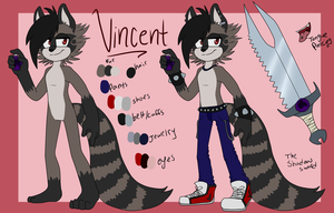 Vincent Reference Sheet by CourtneyCat101