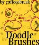 doodle brushes by jerseynoland