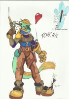 Torchie Steampunk Shrinking by FrostRoo