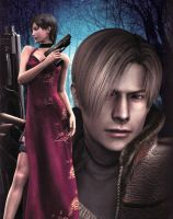 Resident Evil 4 by candycanecroft