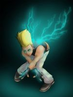 BENIMARU  ' lightning wings' by fogAlien