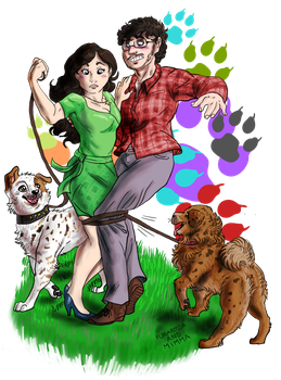 Hannibal - Dogs and Love by FuriarossaAndMimma