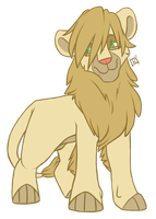 The Young Lion by SlightInsanity