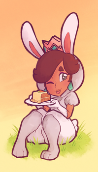 Super Carrot Super Cake by CrystalCrowned