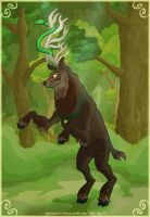 The Stag and the Snake by hpkomic