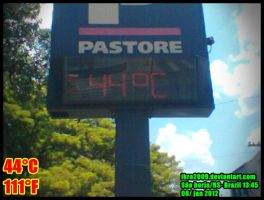 High temperature by Ikro2009