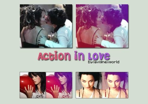 Photoshop Action 'In Love' by lavignexworld