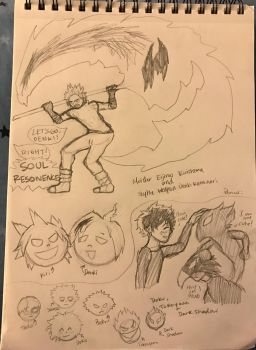 More BNHA Soul Eater AU by fairytailwizardchick