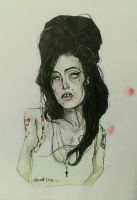 Amy winehouse . by Sirxlem
