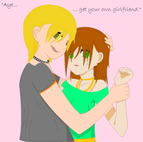 """""""Get your own girlfriend,"""" by Pokemon123Love"""