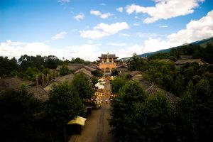 The ancient city of Dali by herotenka
