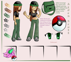 Pokemon: Ayden Scott Ref Sheet by Furugaki