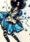 Alice and Butterflies by Mary-Alice29