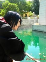 Harry Potter : Surius Black watching the lake by MischievousBoyAilime