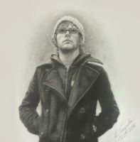 Mikey Way  - Every Snowflake's Different by Tokiiolicious
