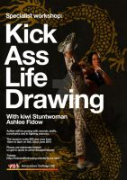 ACNZ presents: Kick Ass Life Drawing by AnimationCollegeNZ