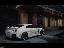 Nissan GTR by pacee