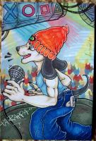 PaRappa Sings by cheshiresphynx
