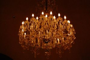 crystal chandelier by katiezstock