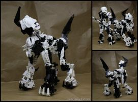 Bionicle PokeMOC: Absol Niyyan by Rahiden