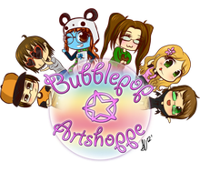 BubblePop ArtShoppe Promotional Trade by NamiOki