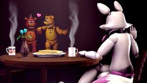 I have a surprise for you!-Golden Freddy by TalonDang