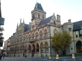 the Guildhall by hellonlegs