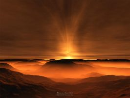 Heaven And Hell - Terragen by furryphotos