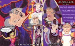 Back to the 90's - Frollo by tavington