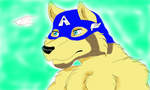 Captain America Wolf by ask-okami-2p-prussia