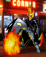 Ghost Rider by SUPERMAN3D