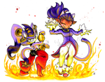 Dancing with the Ashes [Halloween 2014] by MrZash