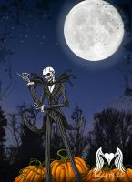 Jack Skellington by Heart0fInk