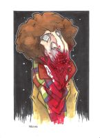 4TH DOCTOR ZOMBIE VARIANT by leagueof1