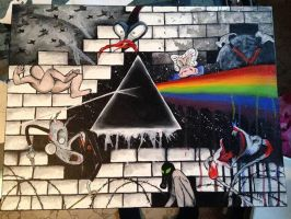 Pink Floyd- The Wall #1 by EerieXBlackCasket