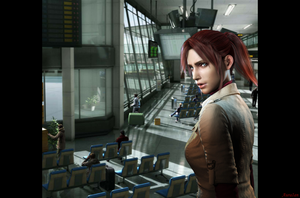 Claire Redfield by AuraIan