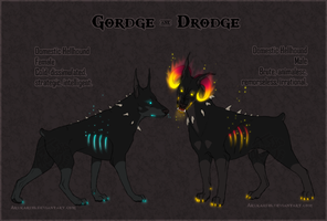 Gordge and Drodge Ref by Arukardis