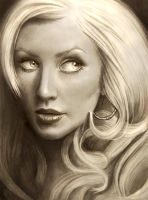 Christina Aguilera by Nazzirithe