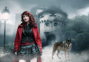 Red Riding Vampire by Vampiric-Time-Lord