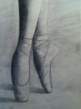 pointe shoes by My-jae