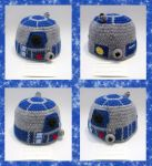 R2D2 Cap by Dragonrose36