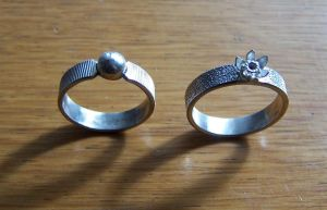 More silver rings by timjo