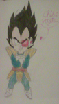 Chibi Vegeta by adminelover